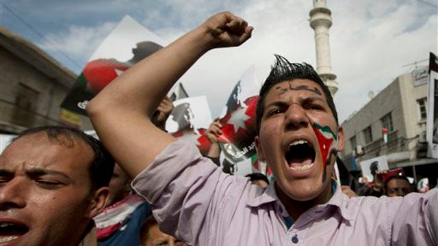 Jordan rallies to support military action against ISIS