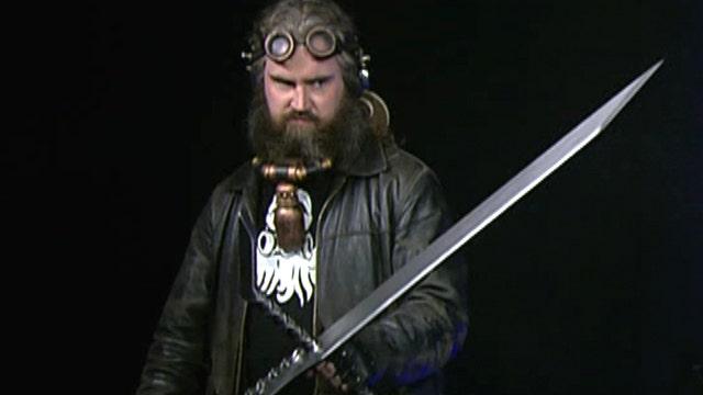 Swords as big as your head!