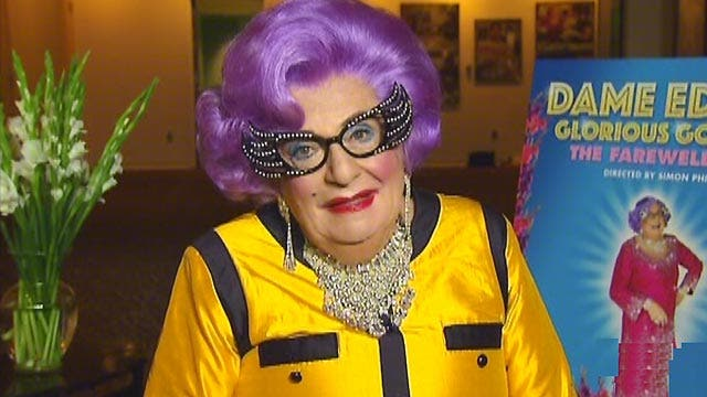 Dame Edna takes her final curtain
