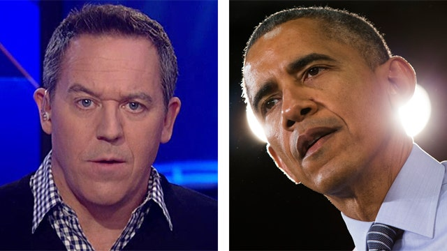Gutfeld: A reminder where our president's head is