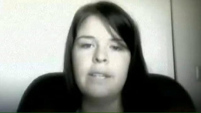 Video of Kayla Mueller showing support for Syrian people