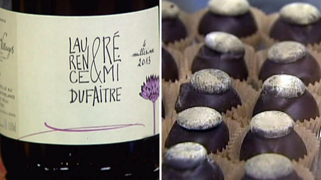 Wine with your Valentine's Day chocolates