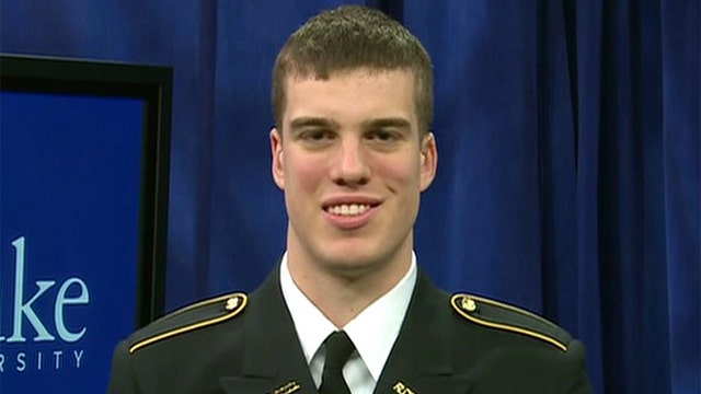 Duke's Marshall Plumlee on defending our country