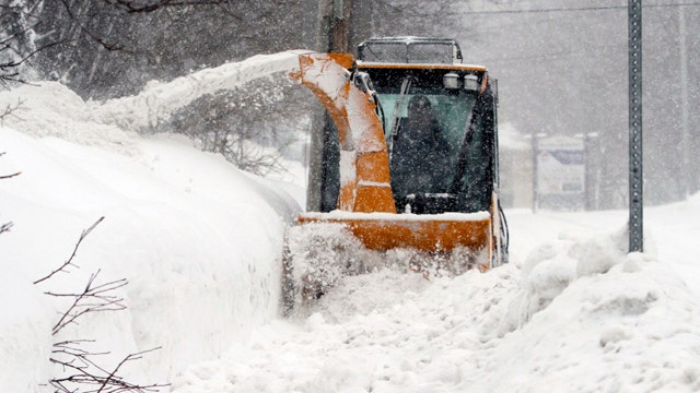 More winter weather slams Massachusetts