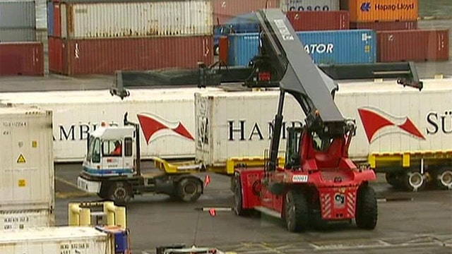 Labor dispute brewing at ports along the West Coast