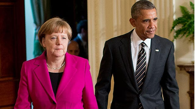 'Outnumbered Overtime': Obama meets with Angela Merkel