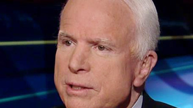 McCain on Obama's handling of conflict in Ukraine, ISIS