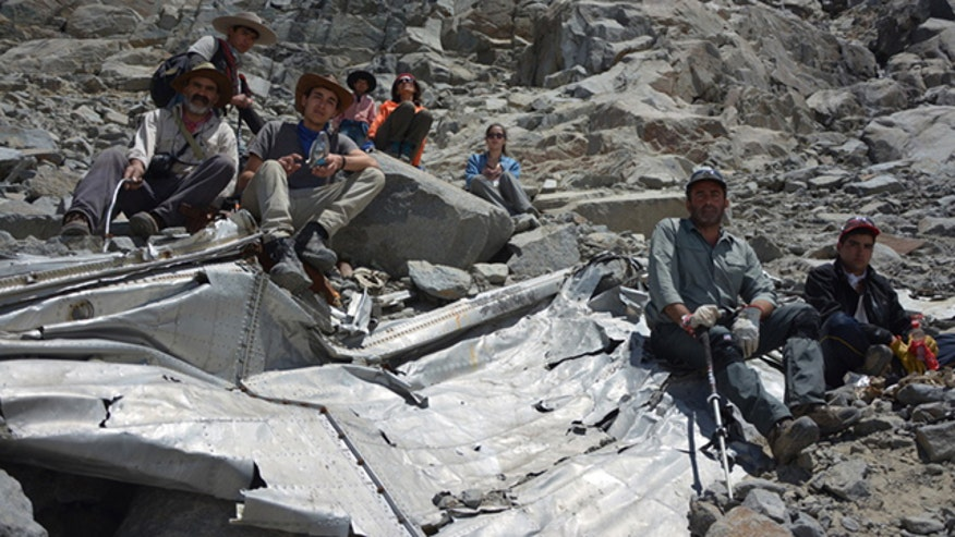 Chilean soccer team's plane found 54 years after crash by climbers in Andes Mountains