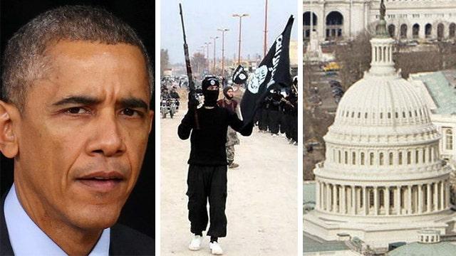 Obama seeks Congressional authorization for ISIS battle