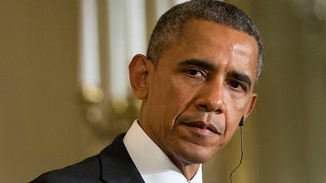 Obama appears to blame the media for hyping terrorism fears