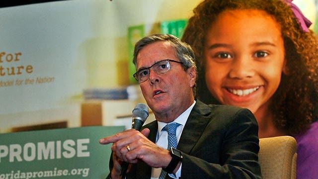 Will education stance hurt Bush's potential run?
