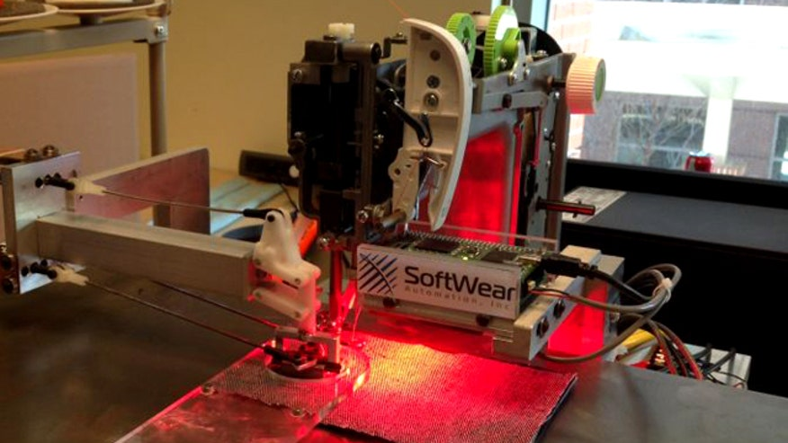 Jonathan Serrie reports on SoftWear Automation