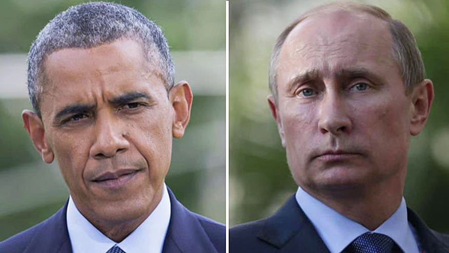 Obama warns if Russia continues its aggressive actions in Ukraine, the costs for Russia will rise