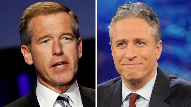 Brian Williams and Jon Stewart both moving on?