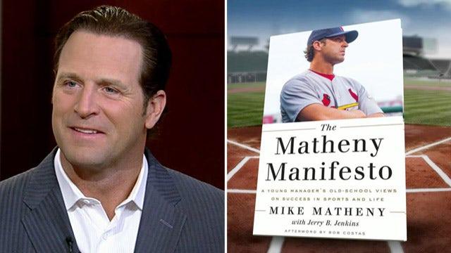 St. Louis Cardinals manager Michael Matheny talks new book