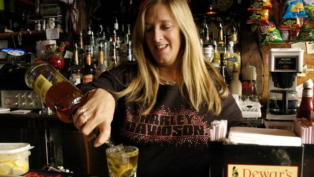 Should bars institute a 2-line ordering system?