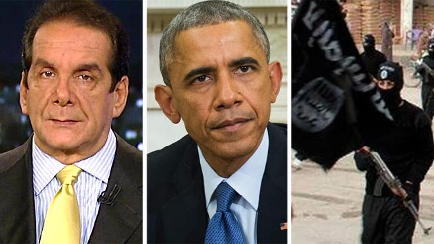 Krauthammer: Obama should fight ISIS until it's defeated