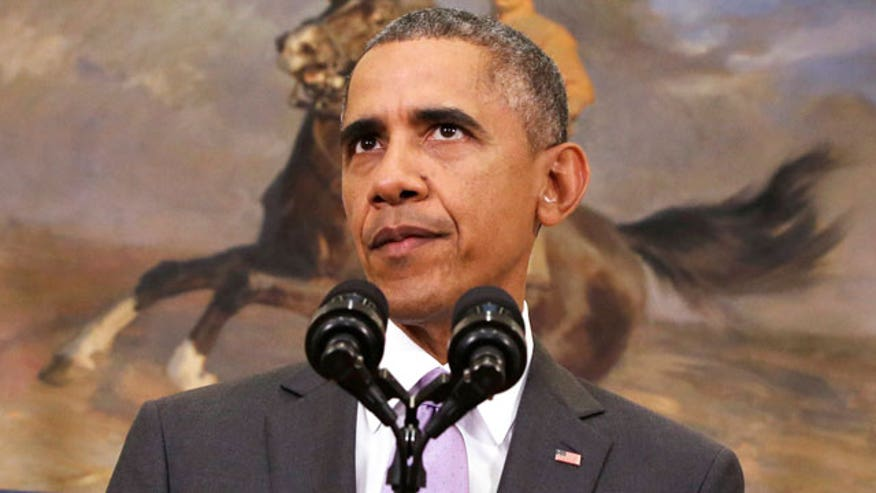 President asks Congress to authorize three-year military campaign against ISIS