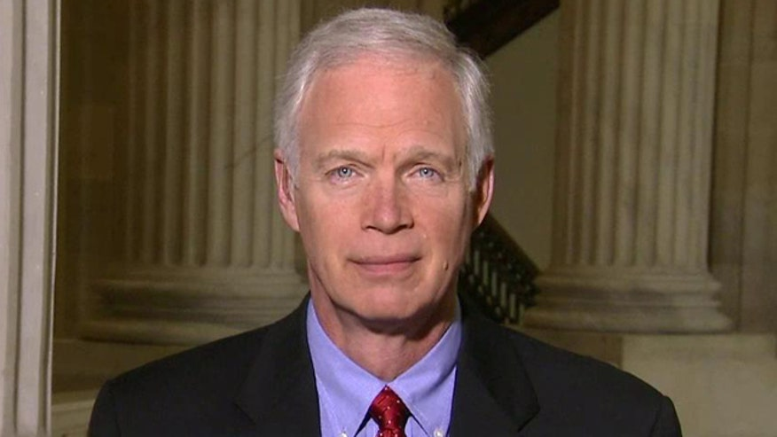 Sen. Johnson suspicious after backups of destroyed hard drives are found