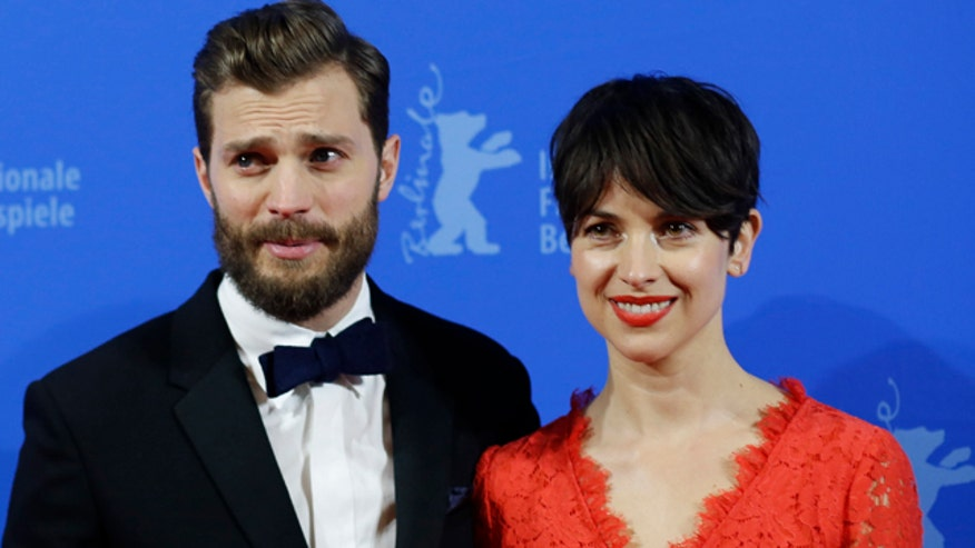 'Fifty Shades of Grey' star Jamie Dornan's wife may not see the raunchy flick