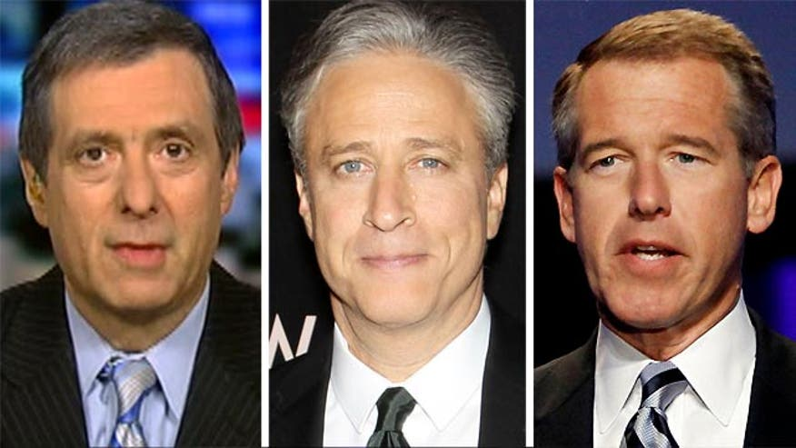 'Media Buzz' host on Jon Stewart, Brian Williams
