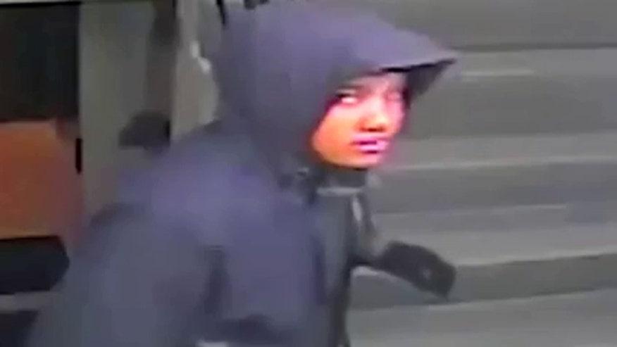 Raw video: Subject captured on hotel's surveillance cameras