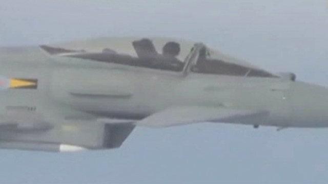 Flashback: RAF fighters intercept Russian long-range bombers