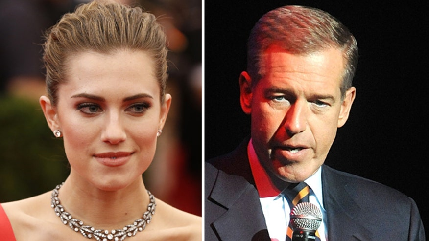 Brian Williams gets props from famous daughter