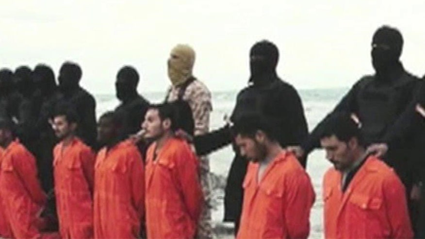 The video supposedly showing ISIS beheading 21 Christians may have been faked