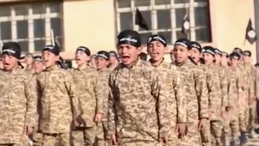 Children as young as five-years-old shown training for combat in latest ISIS video