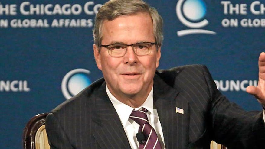 Jeb says he's 'my own man'