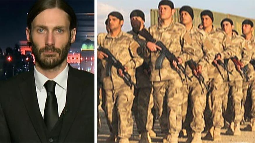 Matthew Van Dyke explains why he's traveled overseas to help in the fight against terror group and what it will take to win