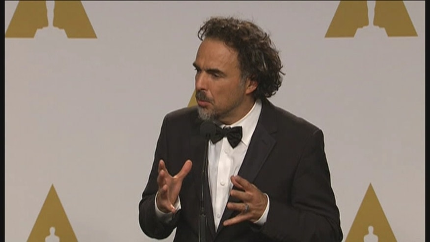 Alejandro González Iñárritu has won the Oscar for best director for Birdman at the 87th Academy Awards.