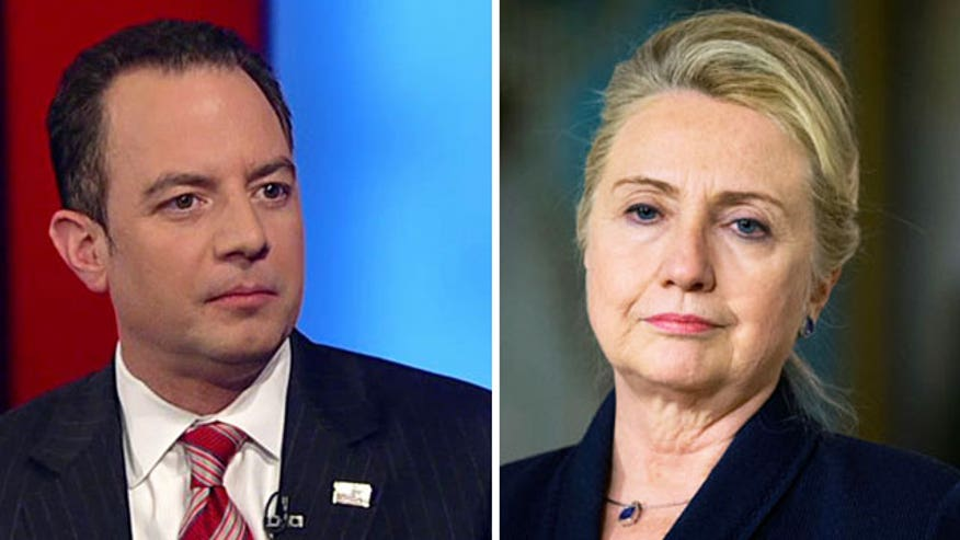 RNC chairman questions Clinton's possible 2016 run