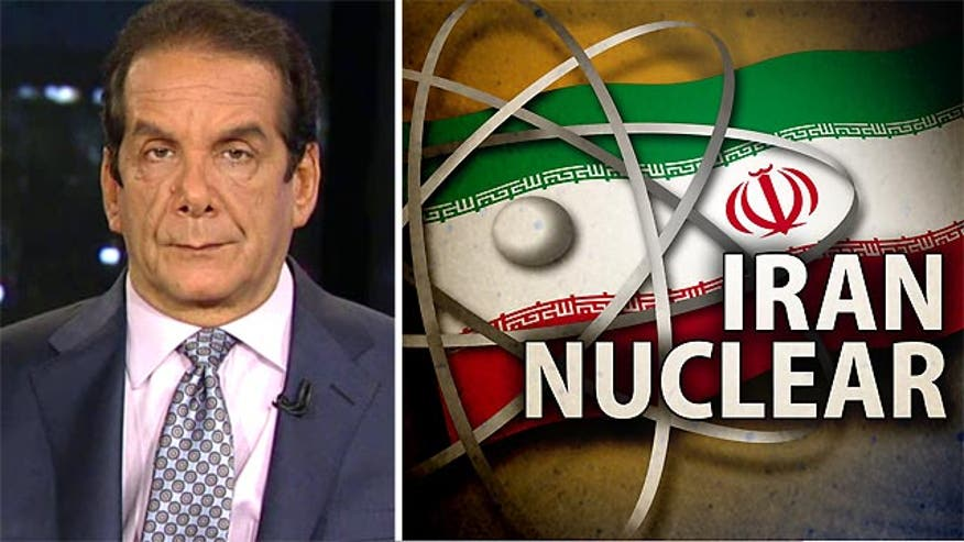 "Charles Krauthammer told viewers Tuesday that a proposed agreement that would allow Iran to development nuclear capabilities would be ""simply catastrophic."""