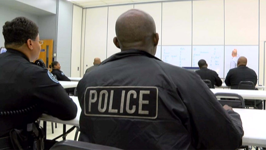 Kyle Rothenberg reports how studying the Spanish language is mandatory for police officers in Jackson, Mississippi