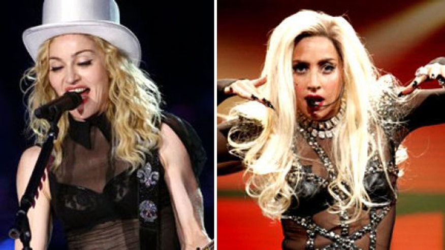 Madonna claims Lady Gaga ripped off one of her songs