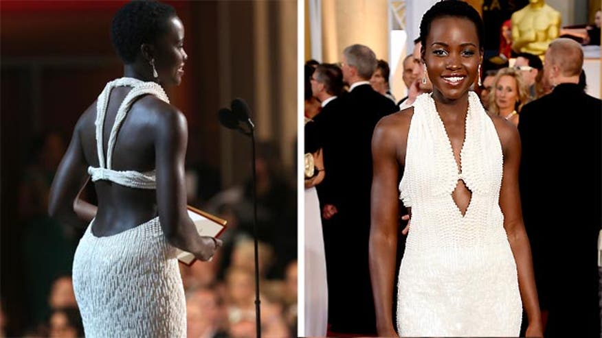 Authorities say someone grabbed Lupita Nyongo's $150,000 dress from her hotel room