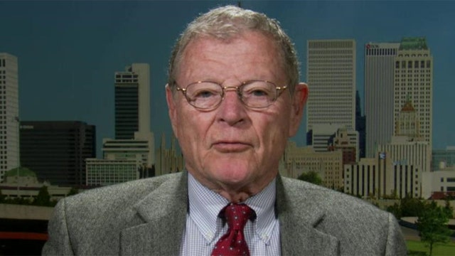 Sen. Jim Inhofe on the fight over climate change