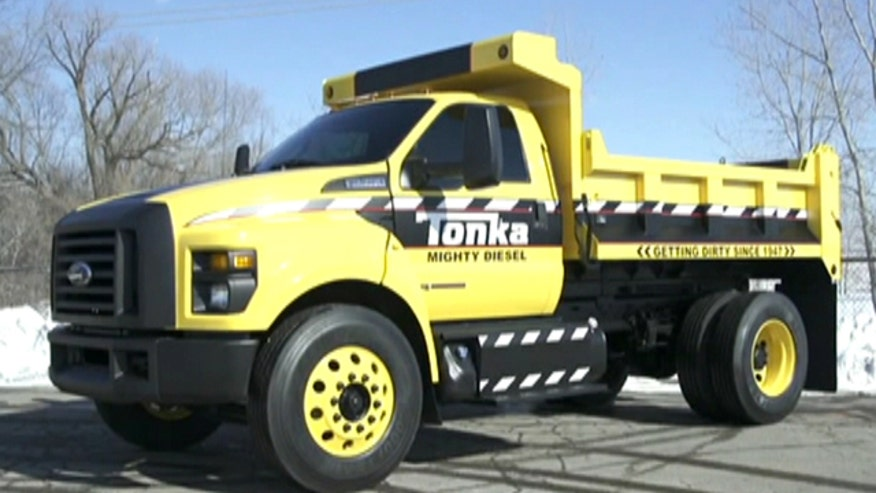 Ford, Tonka team up to make truck