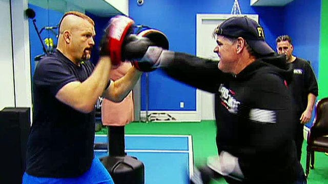 Hannity goes one-on-one with Chuck Liddell