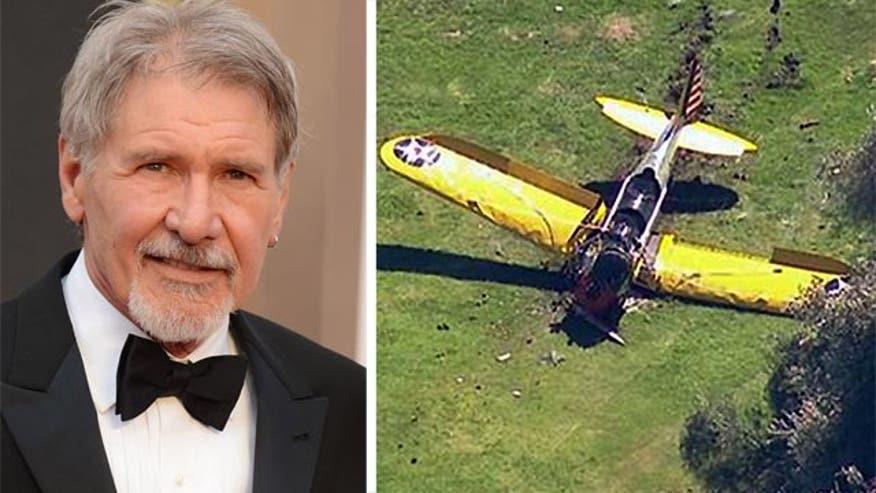 Actor's words before crash landing plane