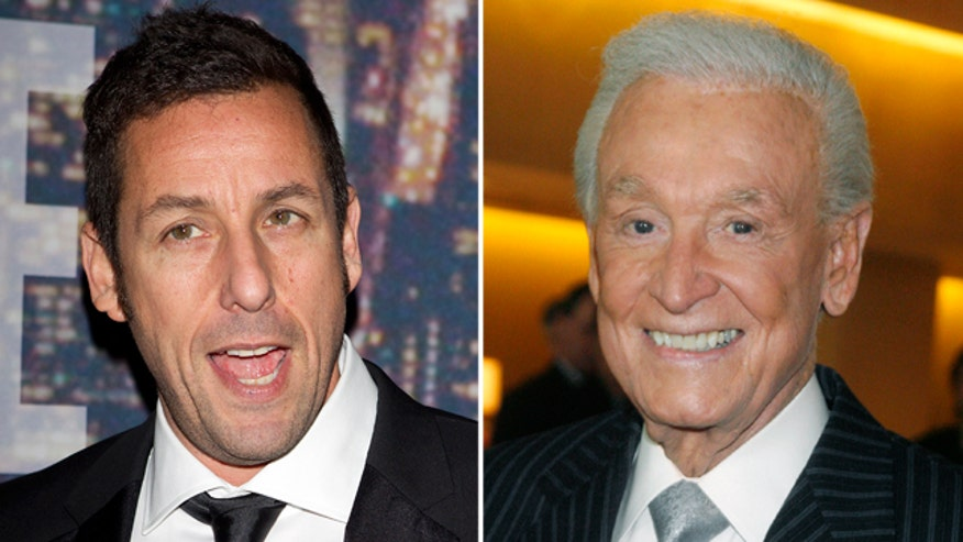 Adam Sandler, Bob Barker revive 'Happy Gilmore' feud for good cause