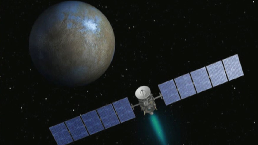 Spacecraft successfully orbits dwarf planet 310 million miles from Earth