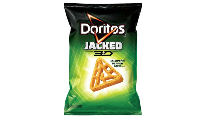 Doritos 3D comes in new jacked flavors