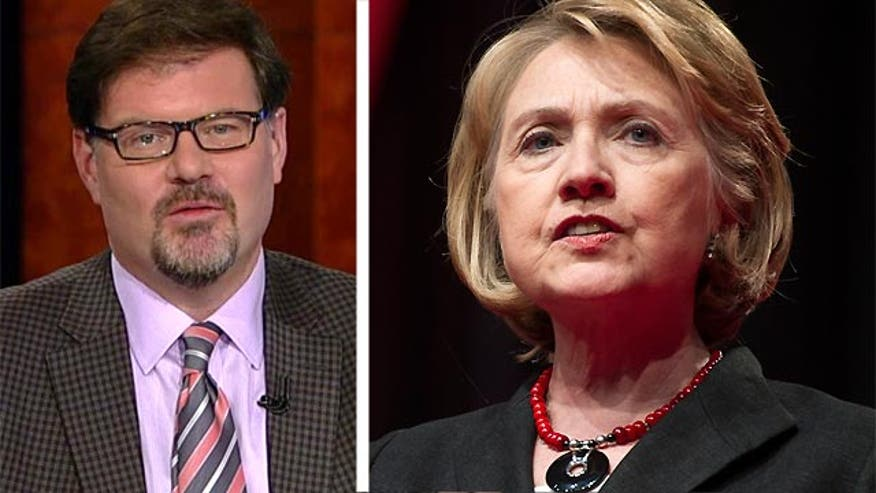 National Review Online Editor Jonah Goldberg says the email scandal is classic Hillary Clinton