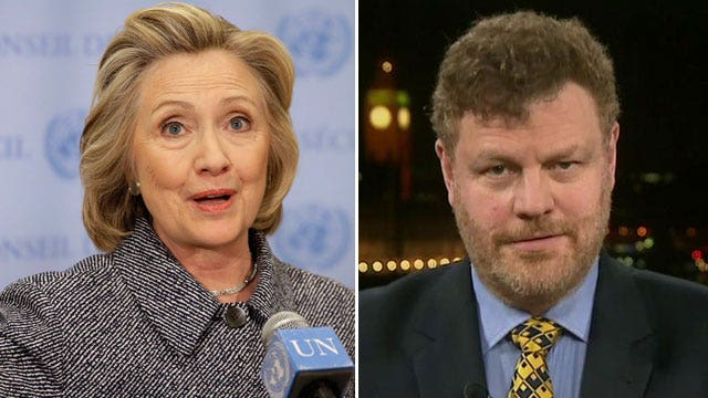 Mark Steyn says Hillary Clinton doesn't pass the smell test
