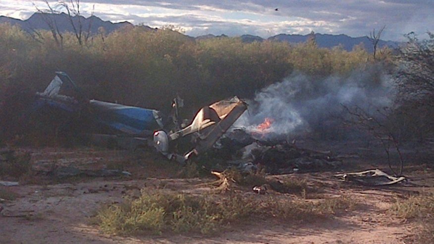 Choppers collided in Argentina