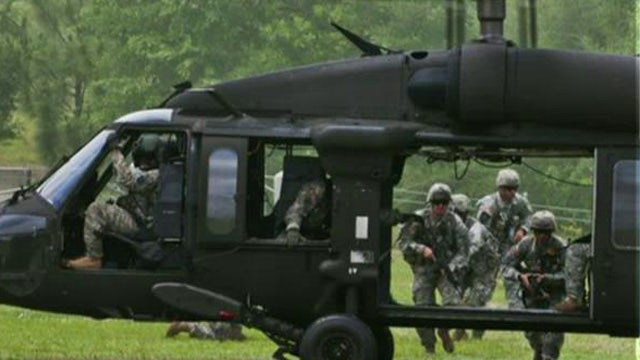 Search and rescue underway after Army helicopter crash