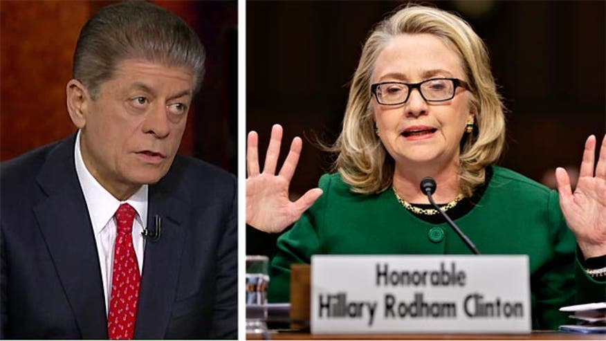 "Judge Andrew Napolitano told viewers Thursday that if Hillary Clinton signed one of two key documents required of all government officials, she ""probably committed perjury"" in regards to the email controversy that has dogged her for weeks."